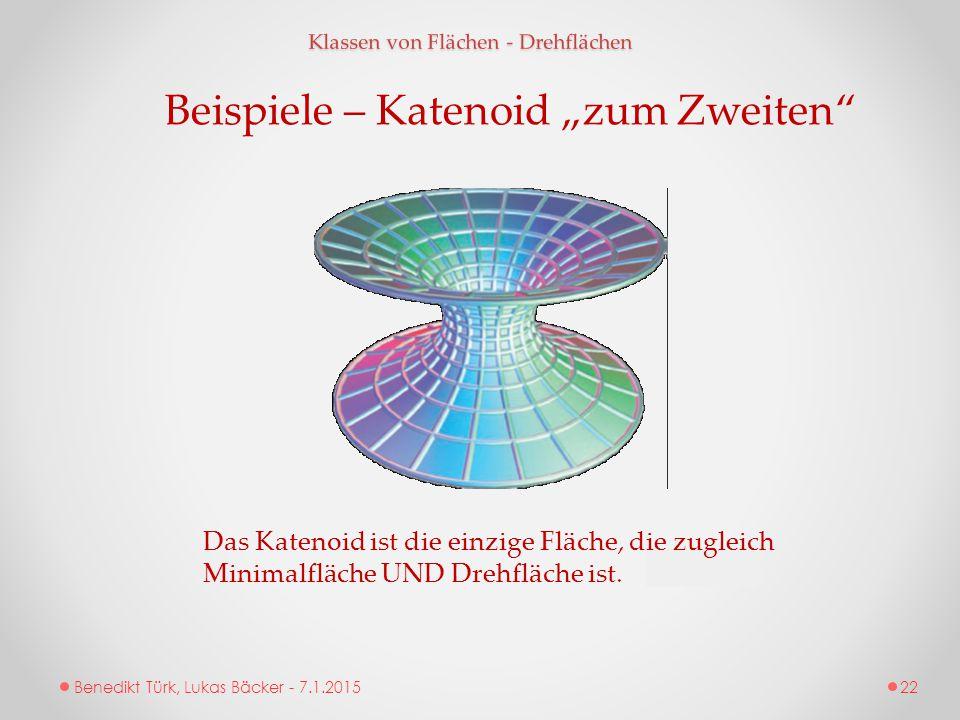 """Beispiele – Katenoid """"zum Zweiten"""