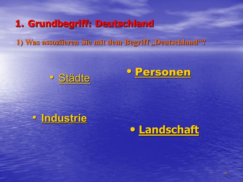1. Grundbegriff: Deutschland