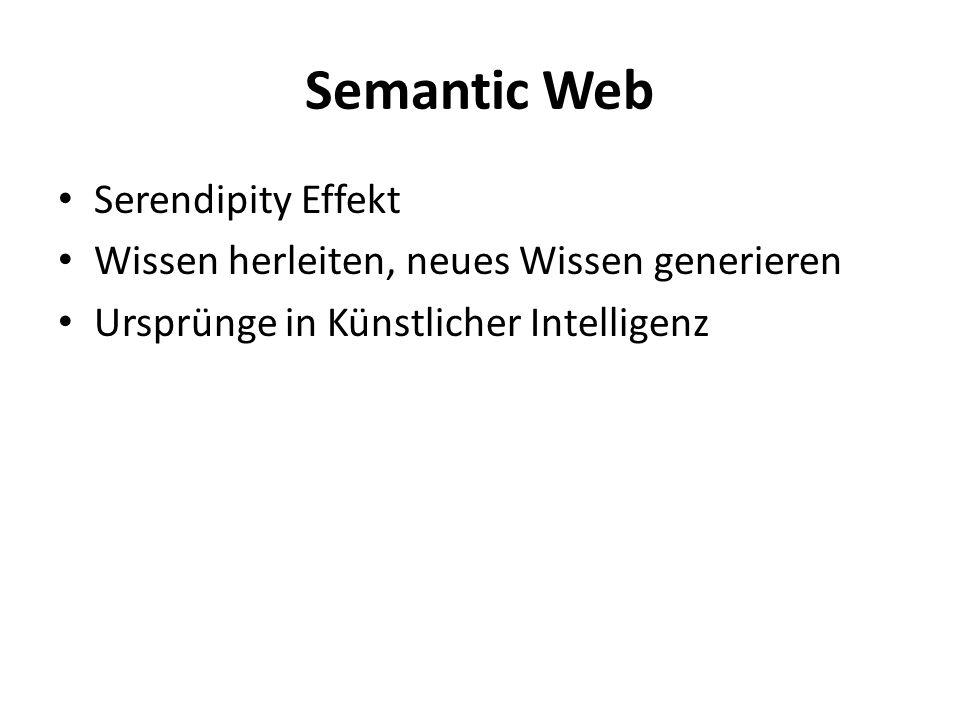 Semantic Web Serendipity Effekt