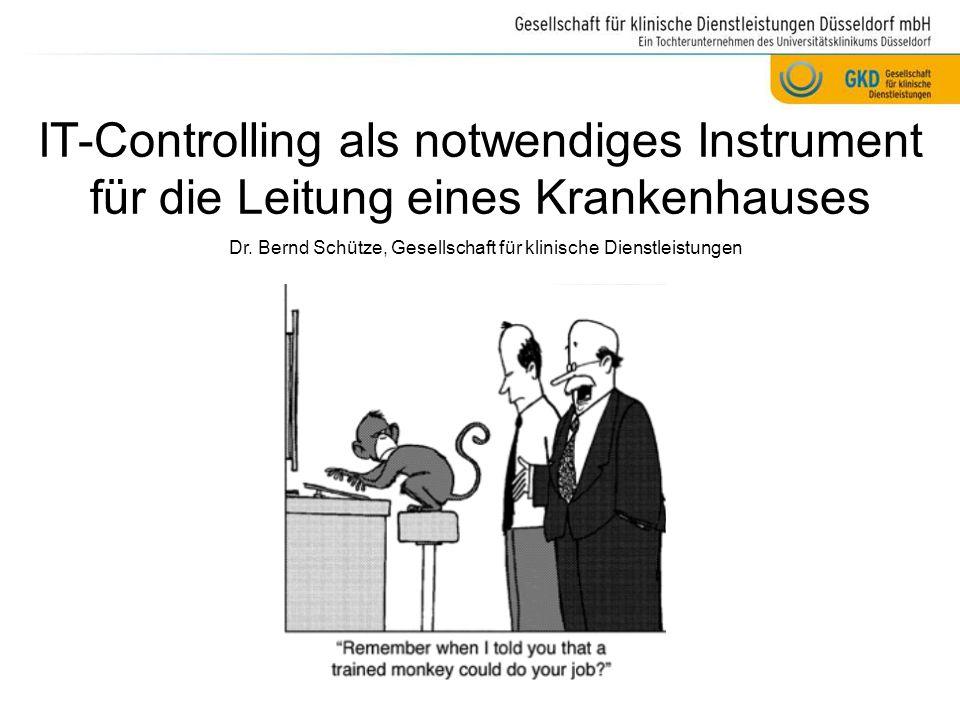 Dr. Bernd Schütze, Gesellschaft für klinische Dienstleistungen