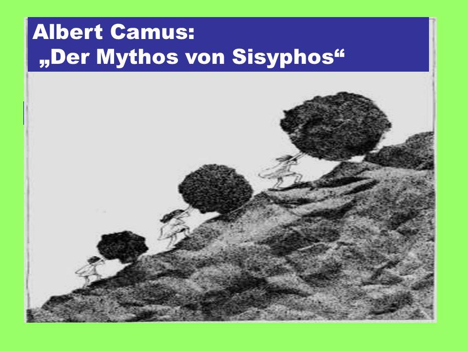 """""""Der Mythos von Sisyphos"""