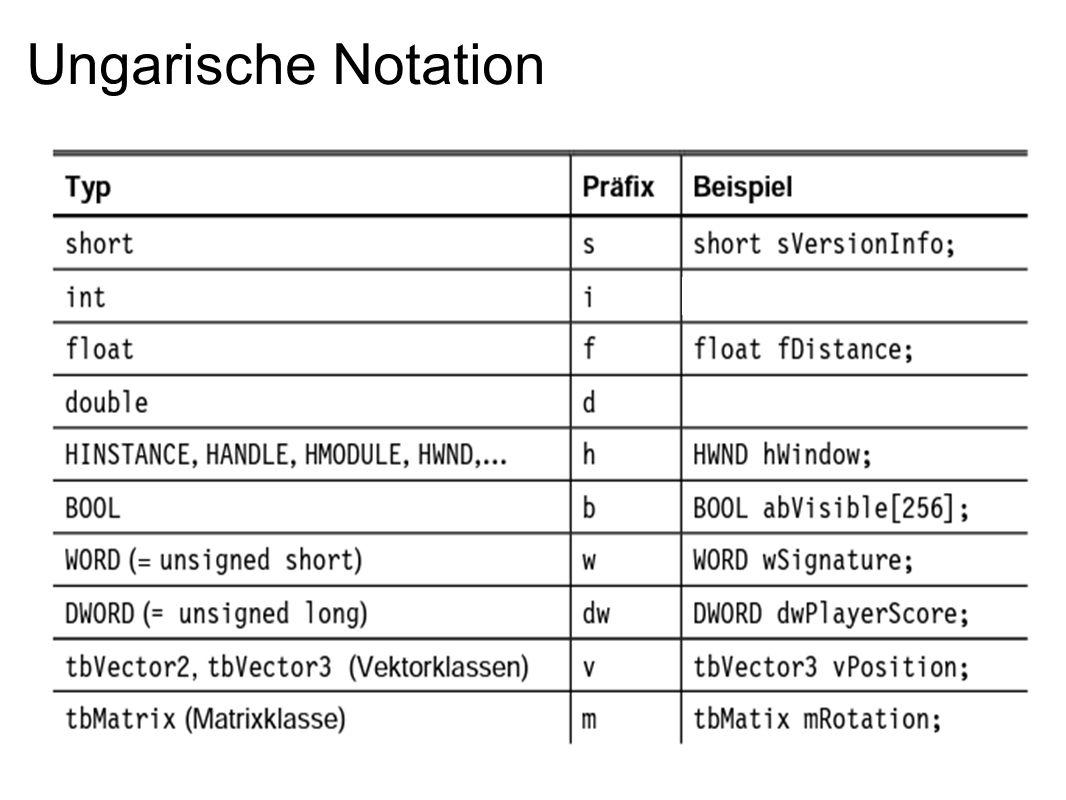 Ungarische Notation