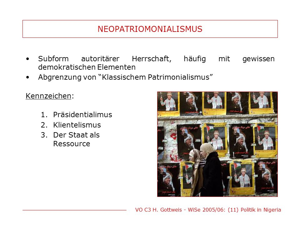 NEOPATRIOMONIALISMUS