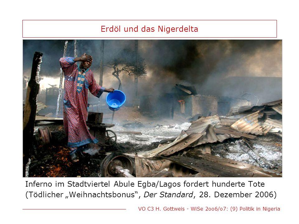 Erdöl und das Nigerdelta