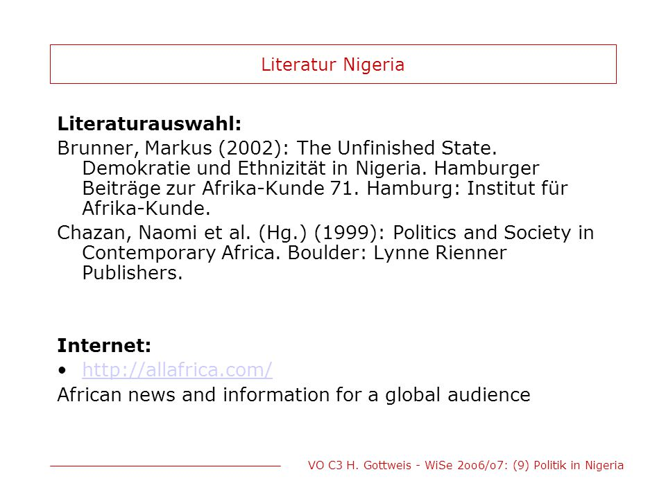 African news and information for a global audience