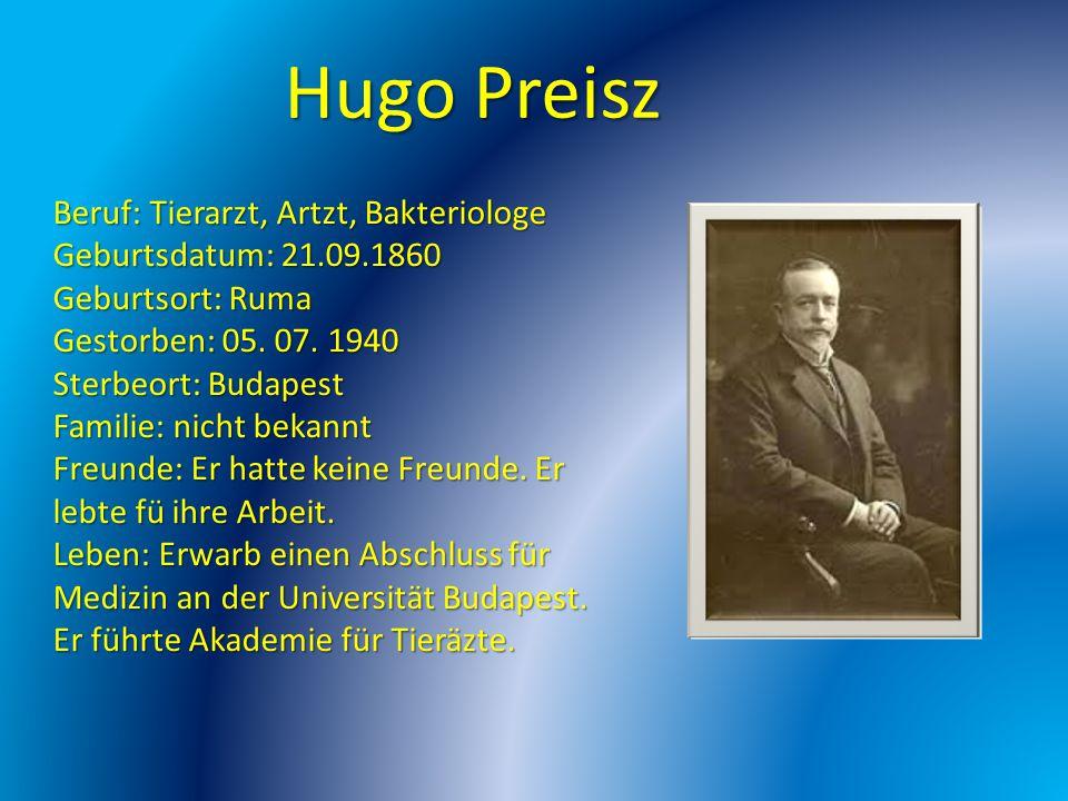Hugo Preisz