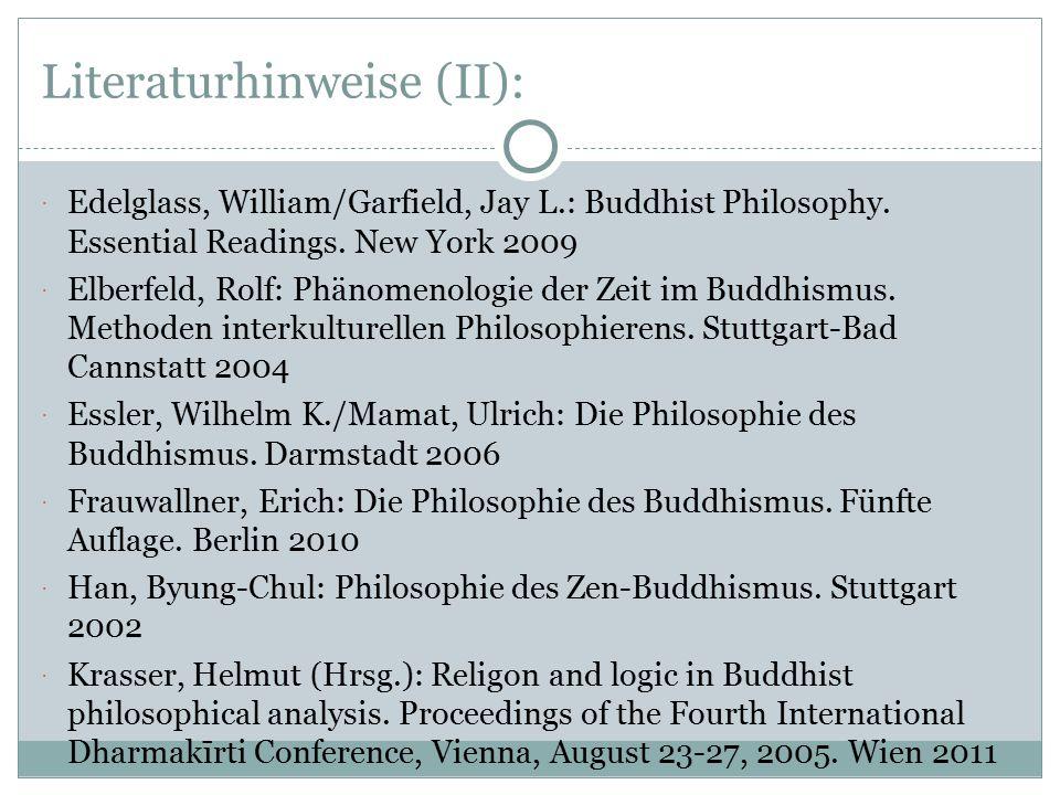 Literaturhinweise (II):