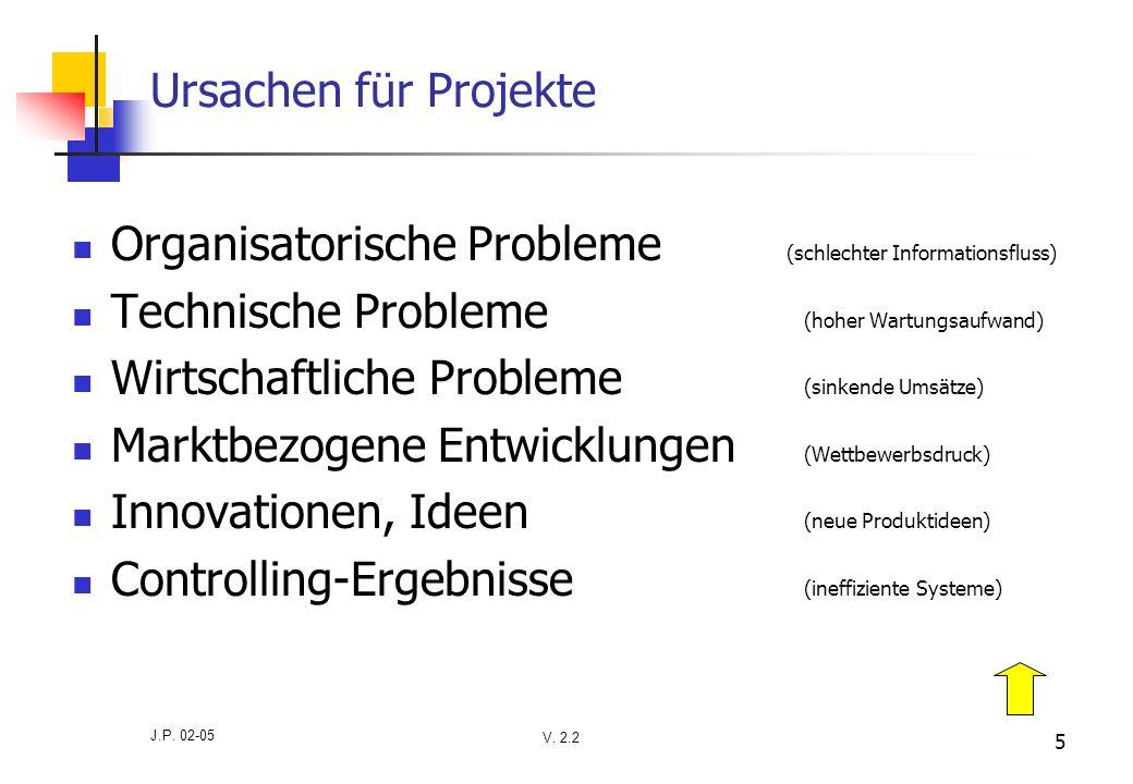 Organisatorische Probleme (schlechter Informationsfluss)