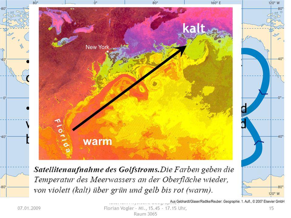 Welche wichtigen Auswirkungen hat der Golfstrom