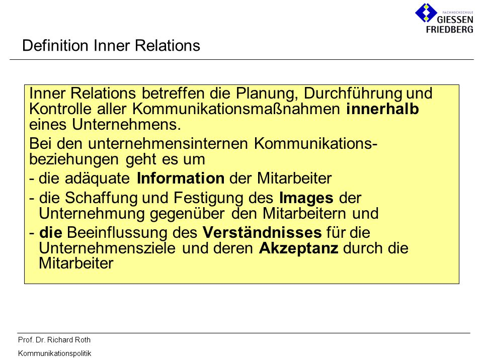 Definition Inner Relations