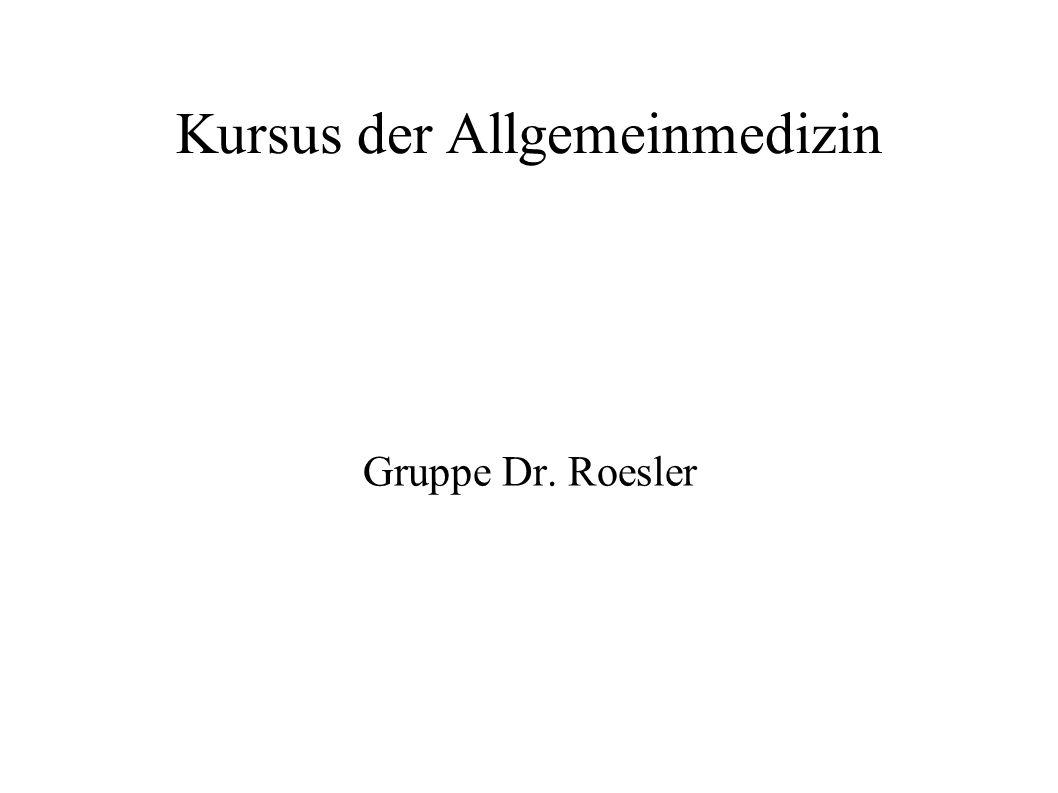 Kursus der Allgemeinmedizin