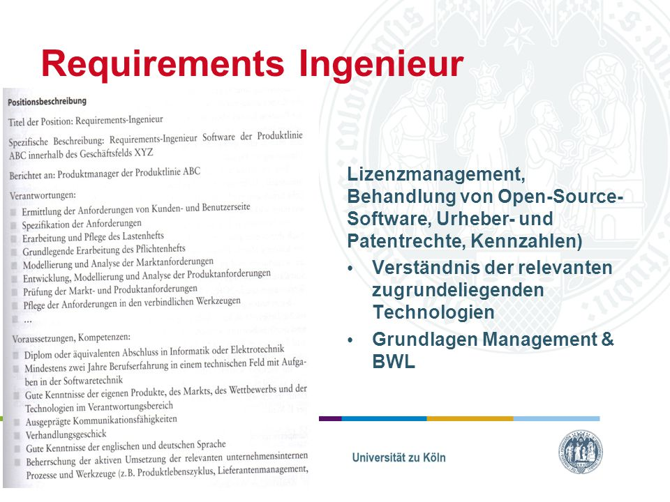 Requirements Ingenieur