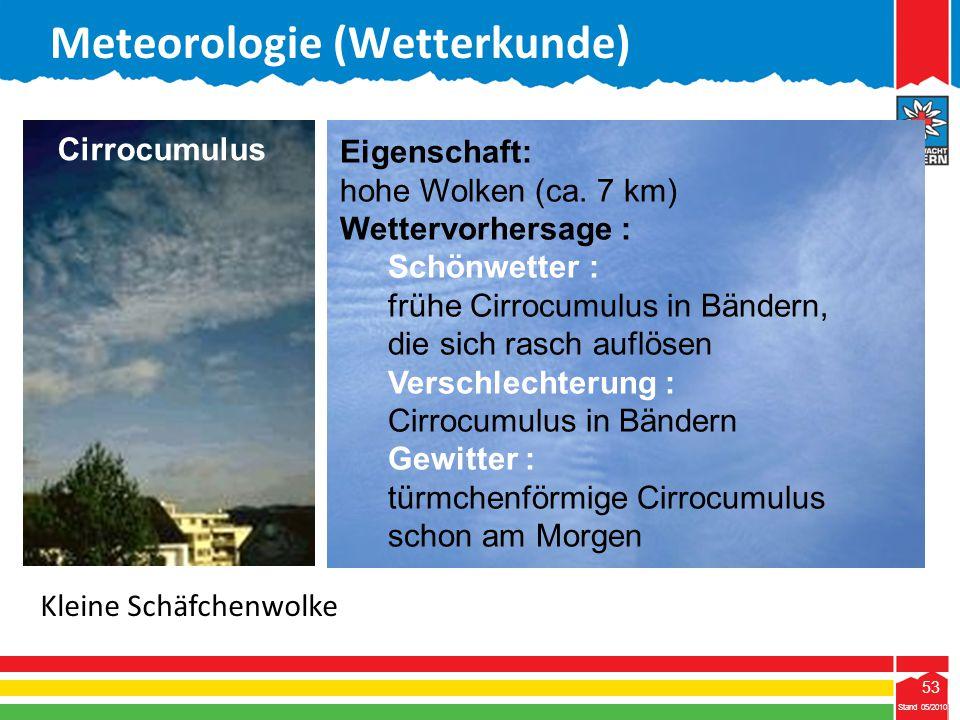 Meteorologie (Wetterkunde)