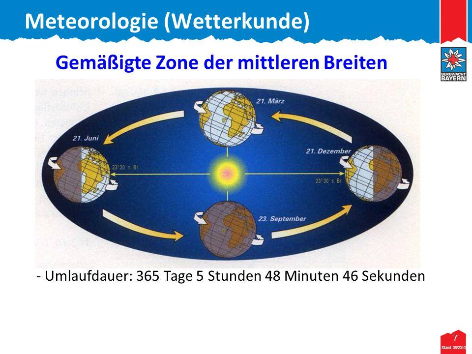 Gemäßigte Zone der mittleren Breiten