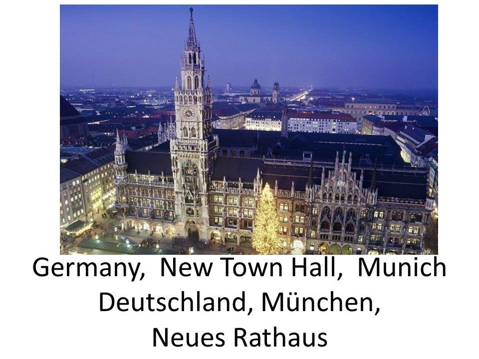 Germany, New Town Hall, Munich Deutschland, München, Neues Rathaus