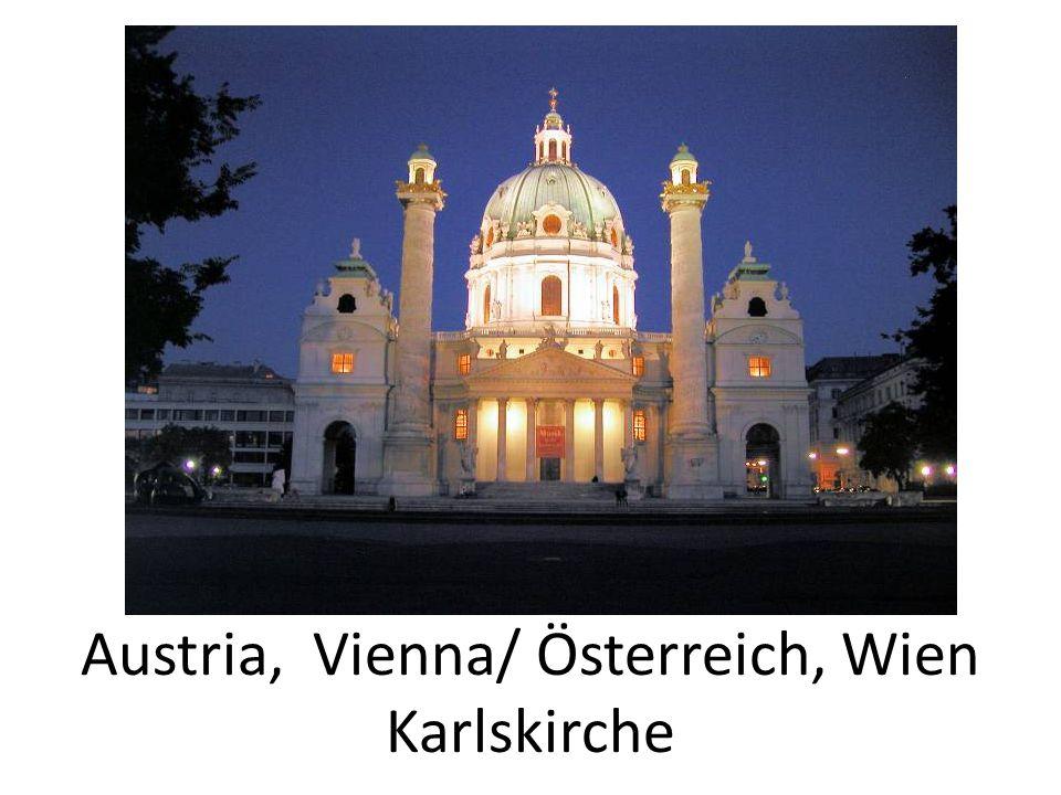 Austria, Vienna/ Österreich, Wien Karlskirche