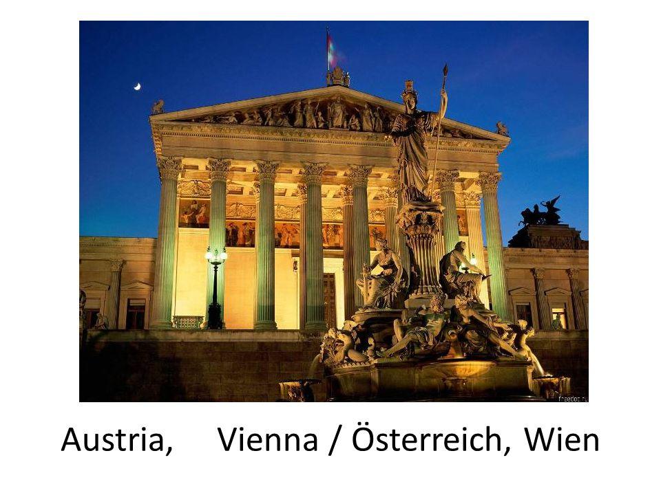 Austria, Vienna / Österreich, Wien