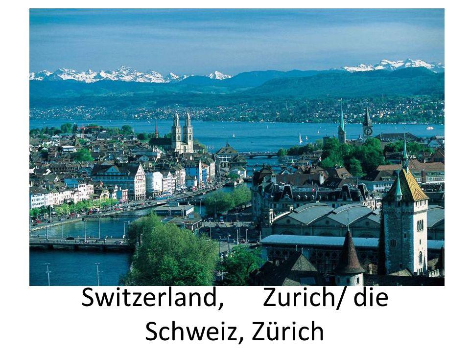 Switzerland, Zurich/ die Schweiz, Zürich