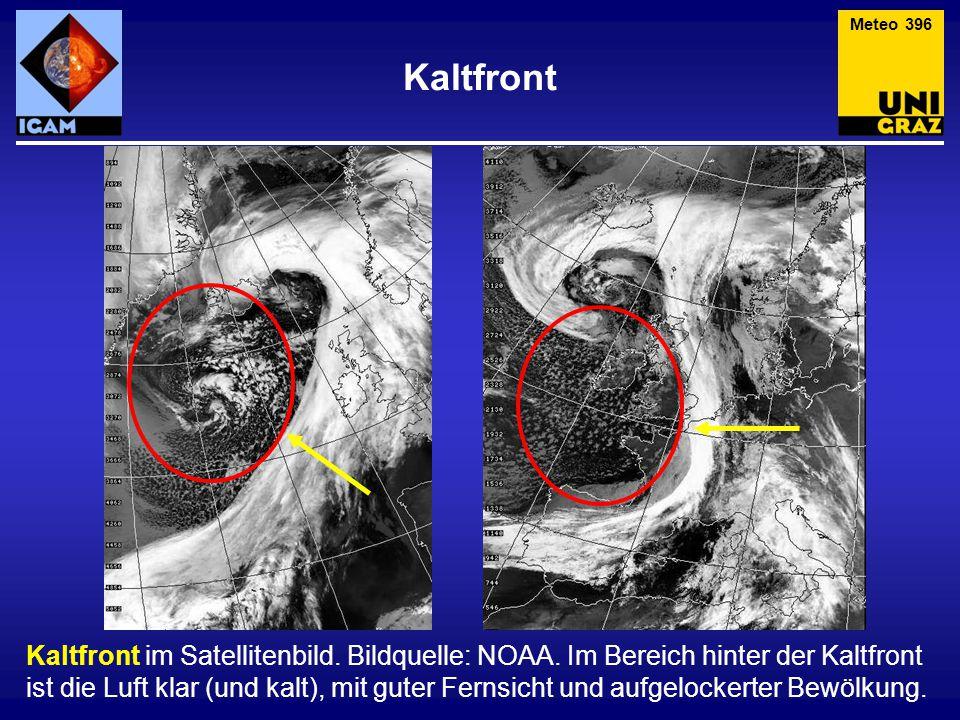 Meteo 396 Kaltfront.
