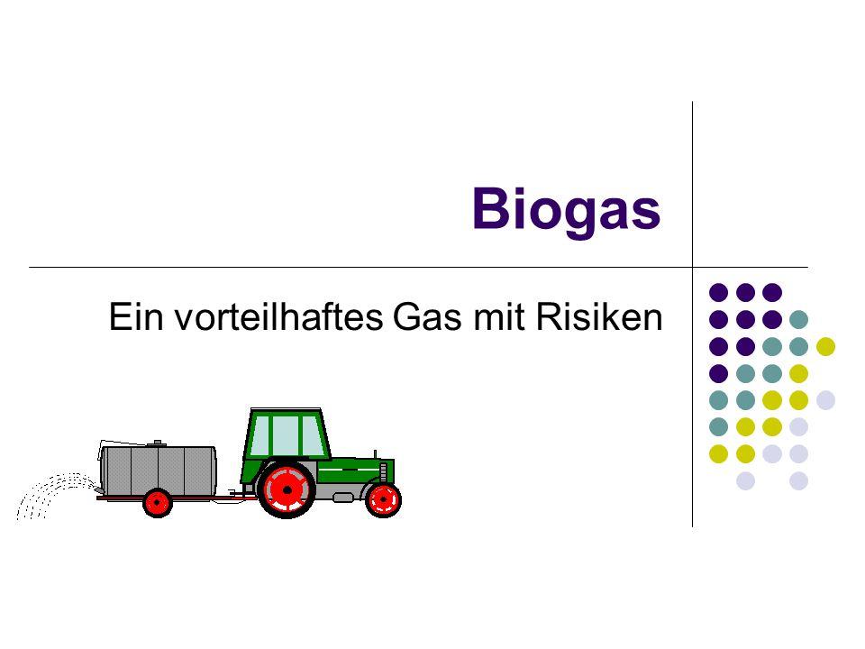 Ein vorteilhaftes Gas mit Risiken