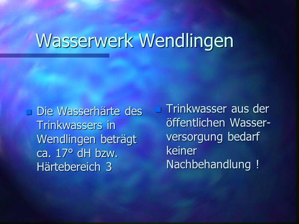 Wasserwerk Wendlingen