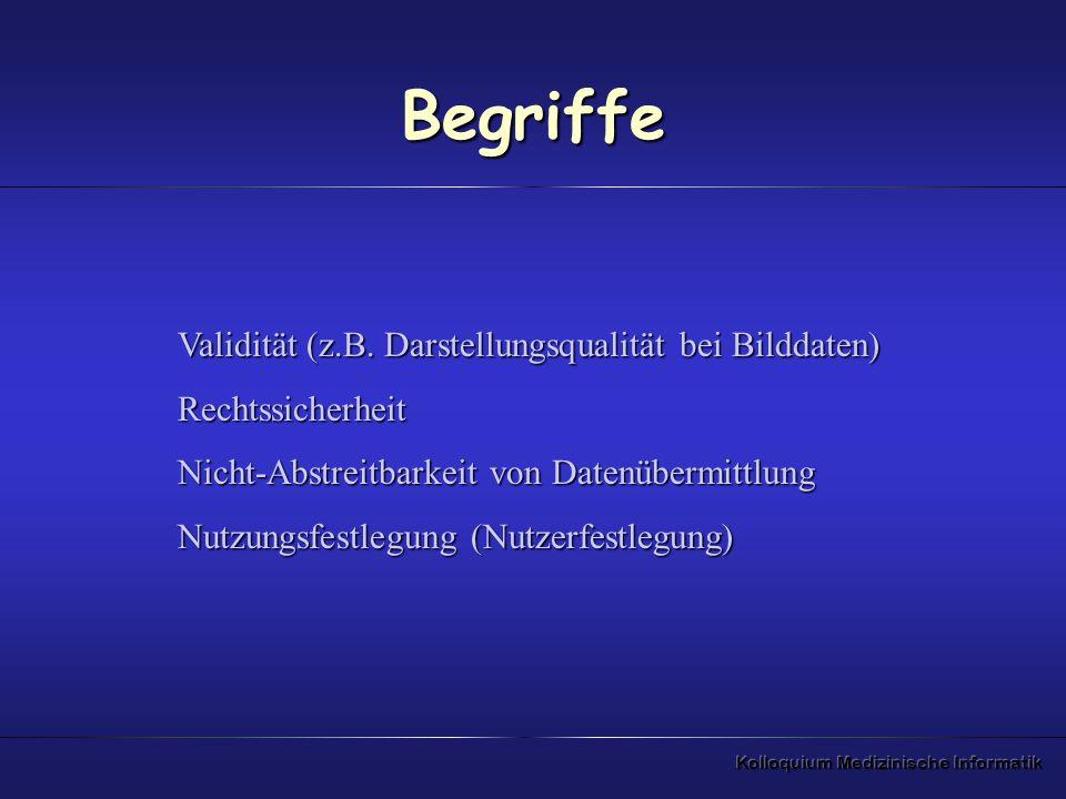 Begriffe Validität (z.B. Darstellungsqualität bei Bilddaten)
