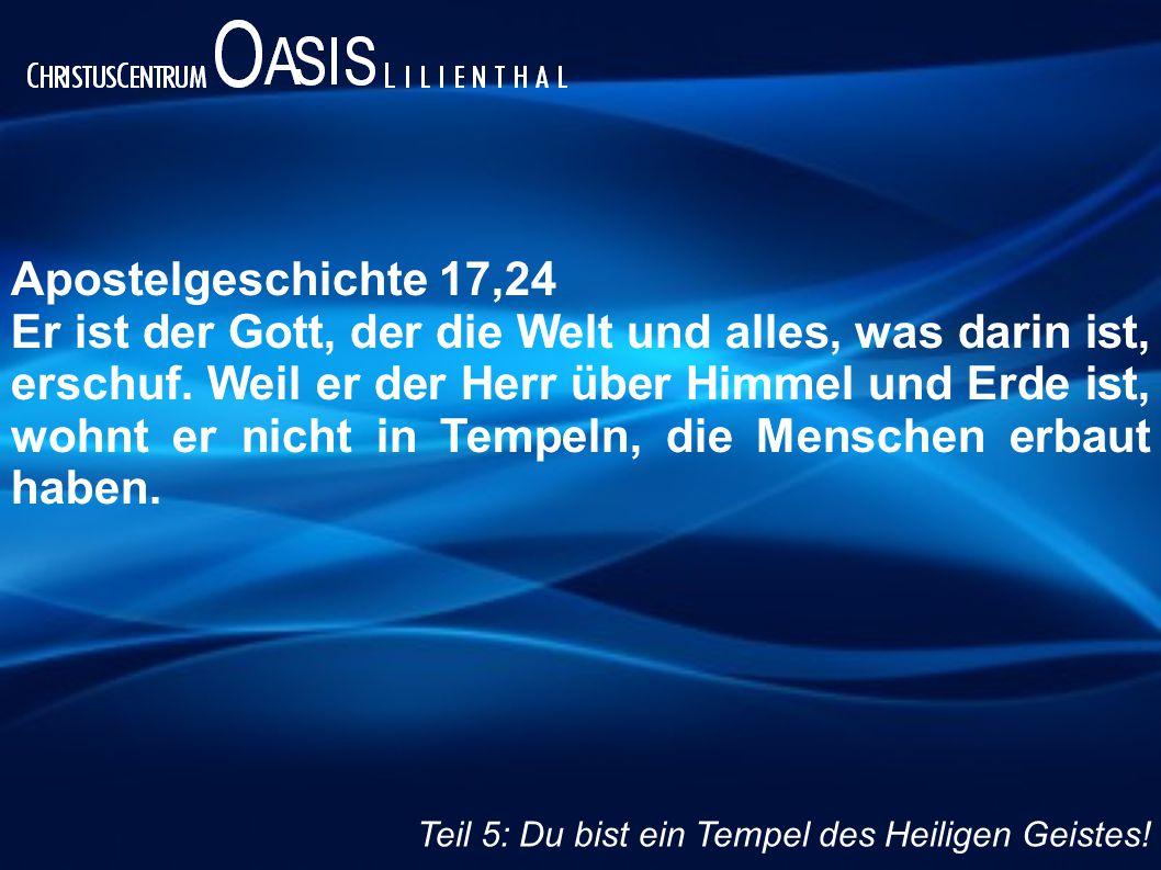 Apostelgeschichte 17,24