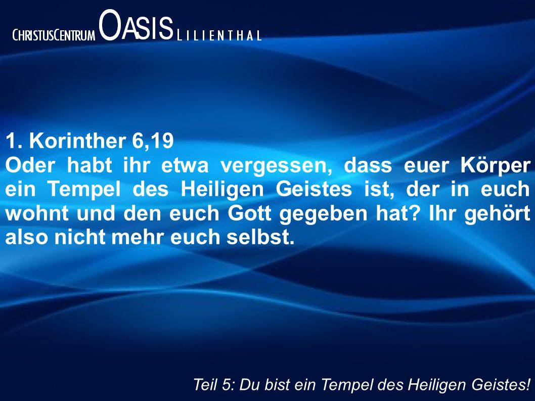 1. Korinther 6,19