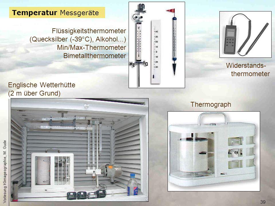 Temperatur Messgeräte