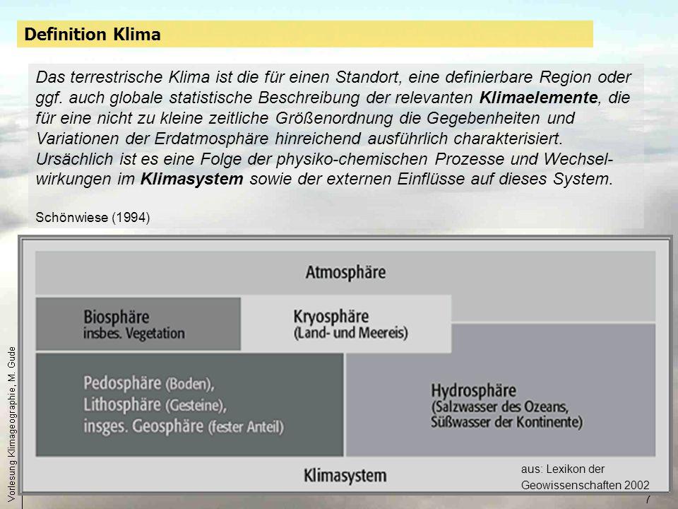 Definition Klima