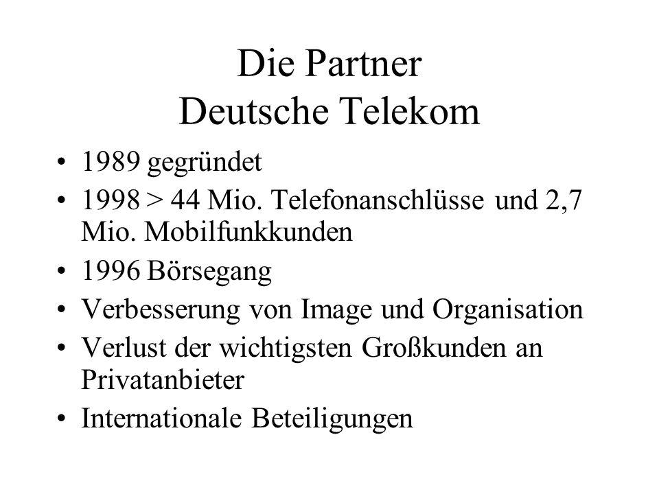 Die Partner Deutsche Telekom