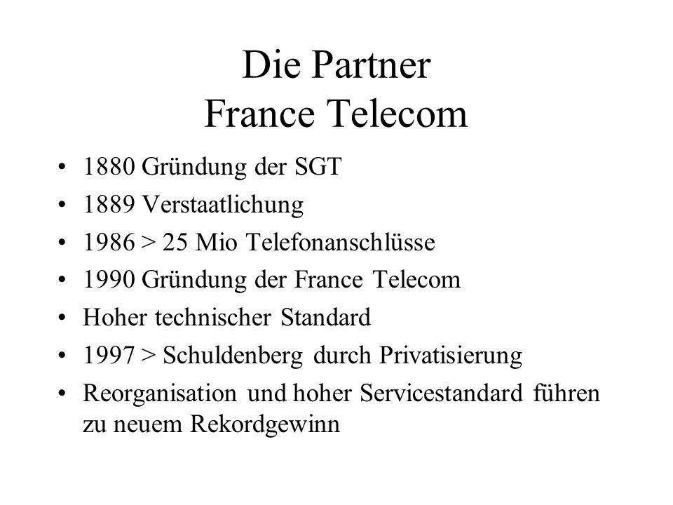 Die Partner France Telecom