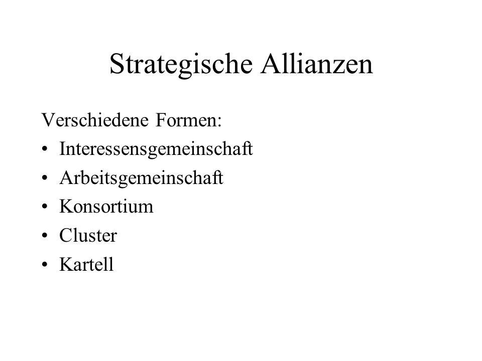 Strategische Allianzen