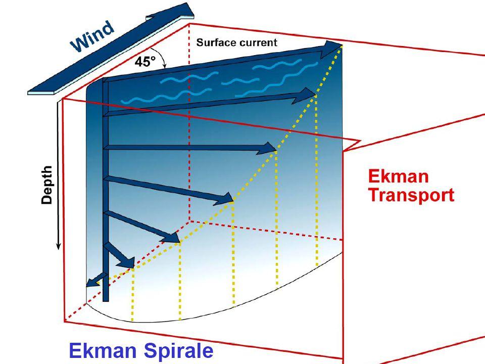 Was beschreibt die Ekman-Spirale