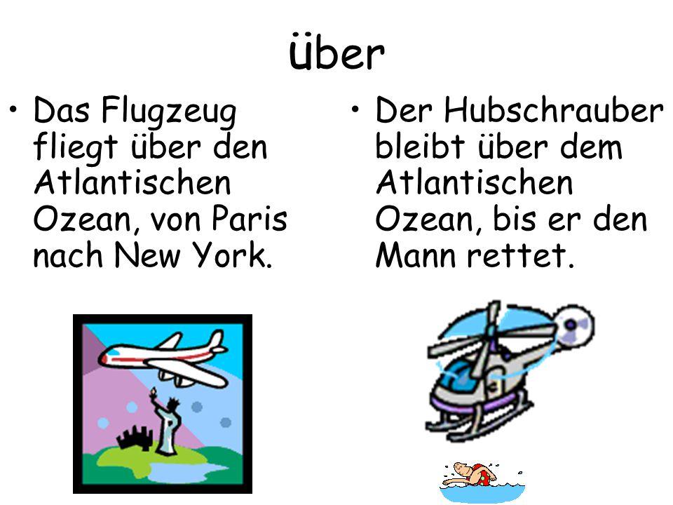 über Das Flugzeug fliegt über den Atlantischen Ozean, von Paris nach New York.