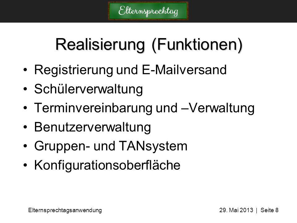 Realisierung (Funktionen)