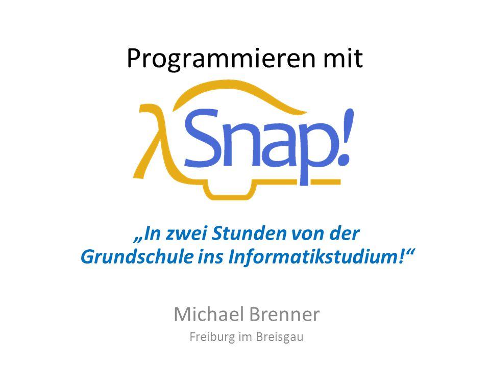 """""""In zwei Stunden von der Grundschule ins Informatikstudium!"""