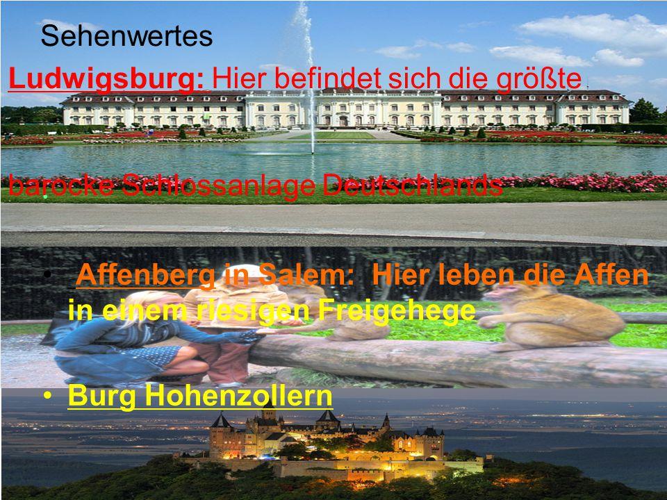 Sehenwertes Ludwigsburg: Hier befindet sich die größte. barocke Schlossanlage Deutschlands.