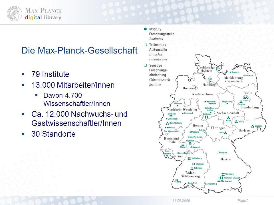 Die Max Planck Digital Library