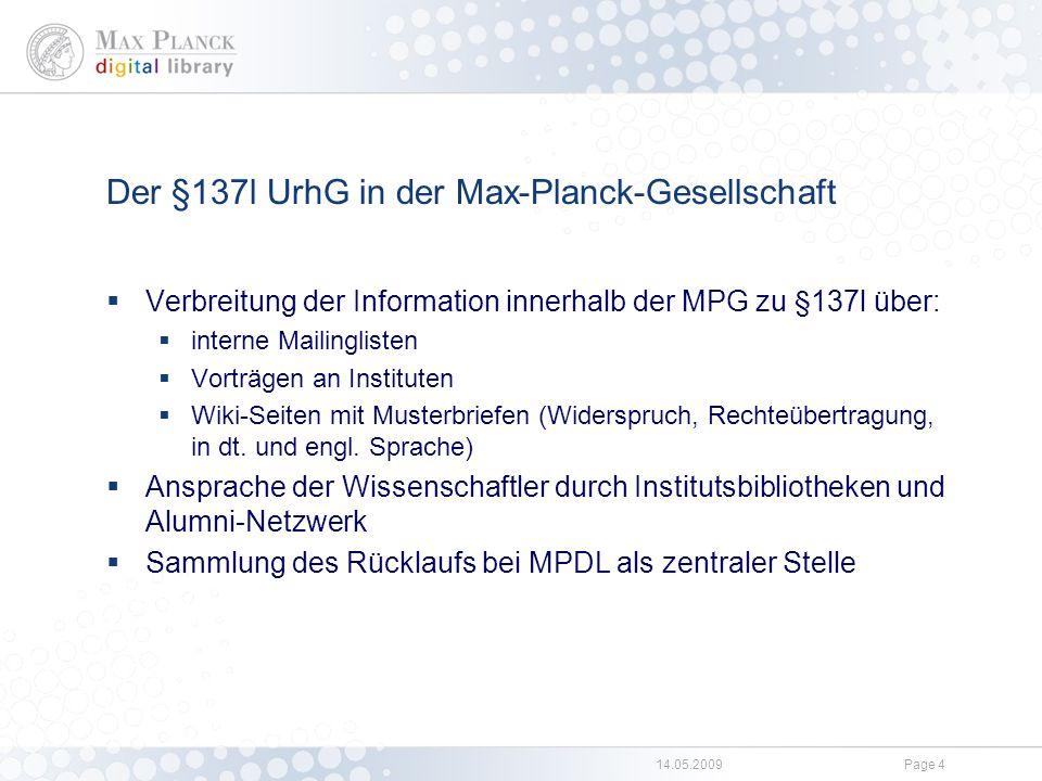 Beispiel für eine Nutzungsrechtübertragung und Publikationsliste