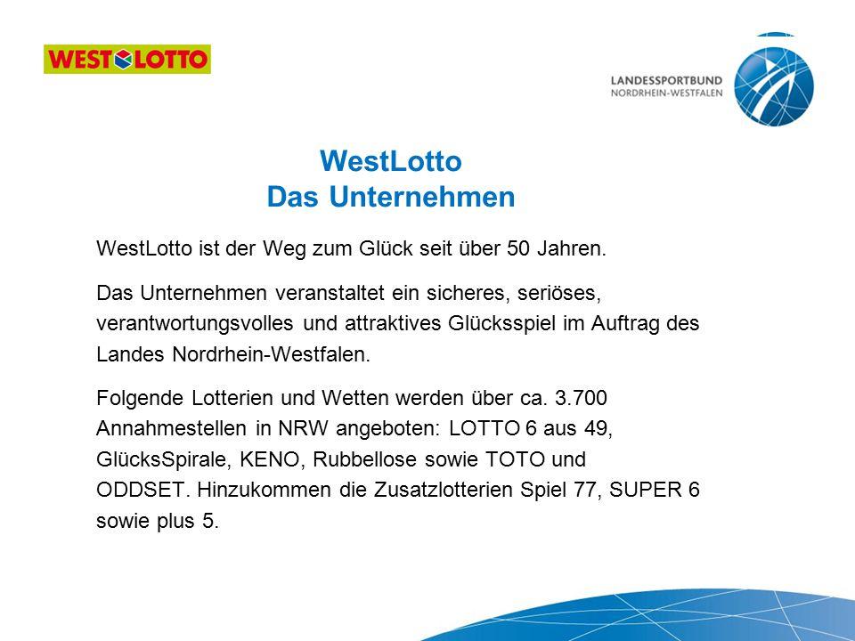 WestLotto Das Unternehmen