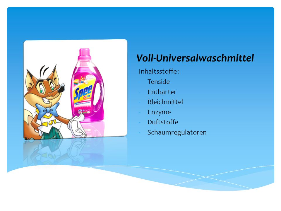 Voll-Universalwaschmittel