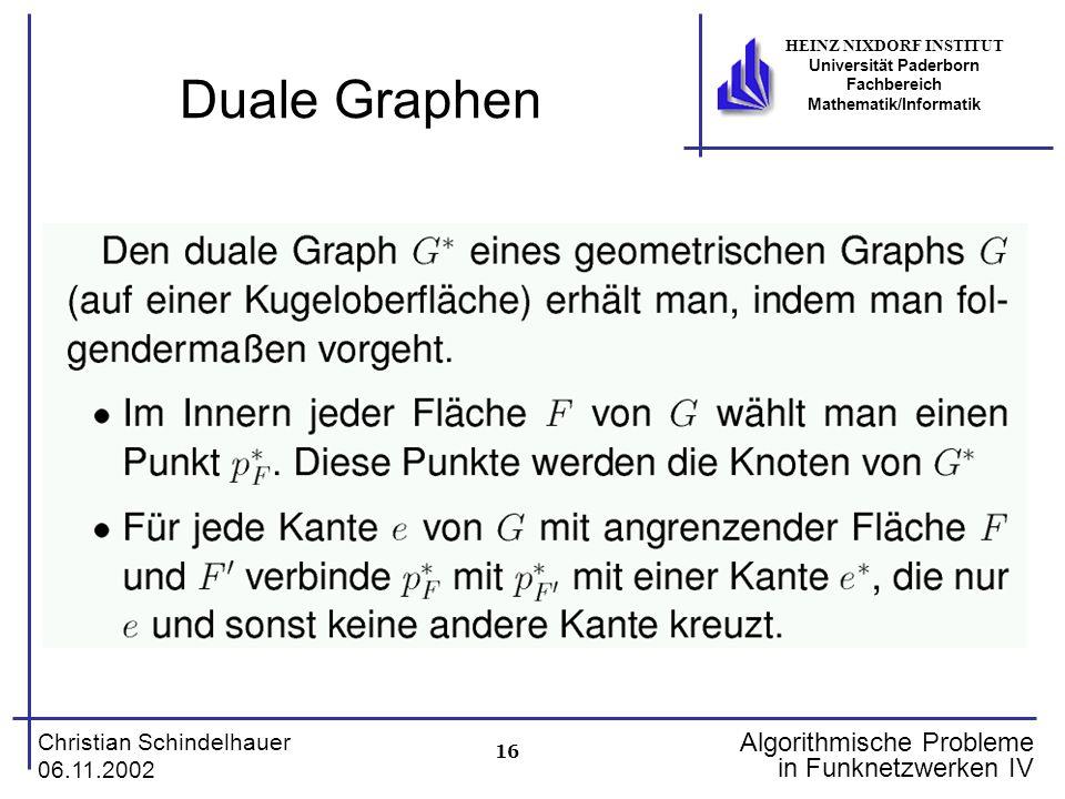 Duale Graphen