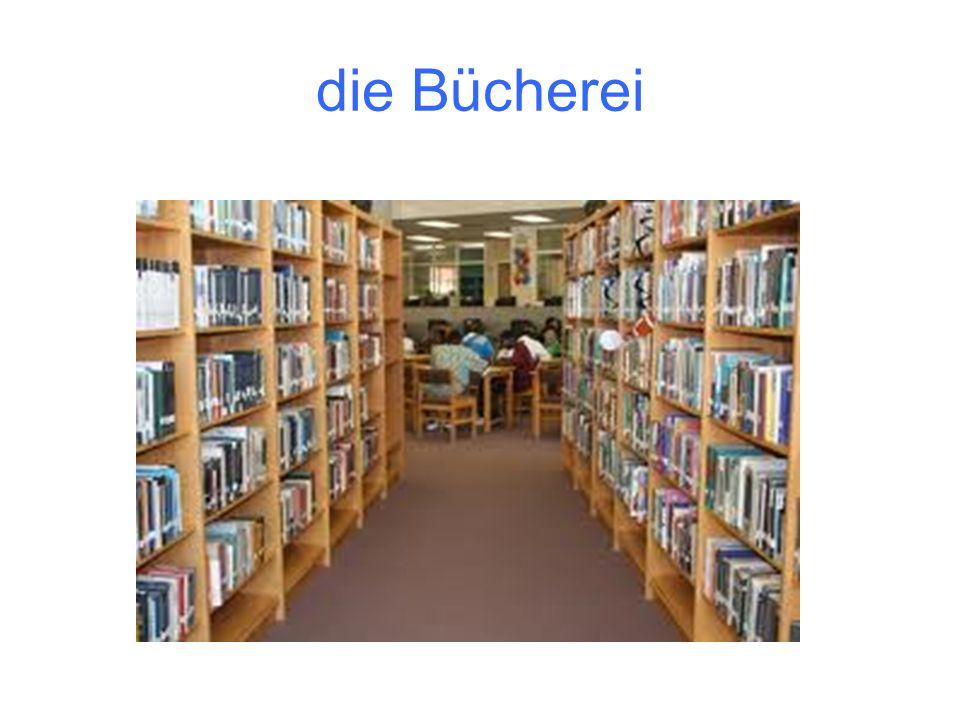 die Bücherei