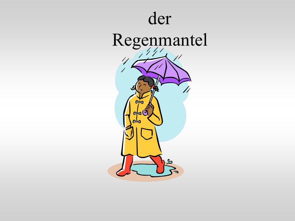 der Regenmantel