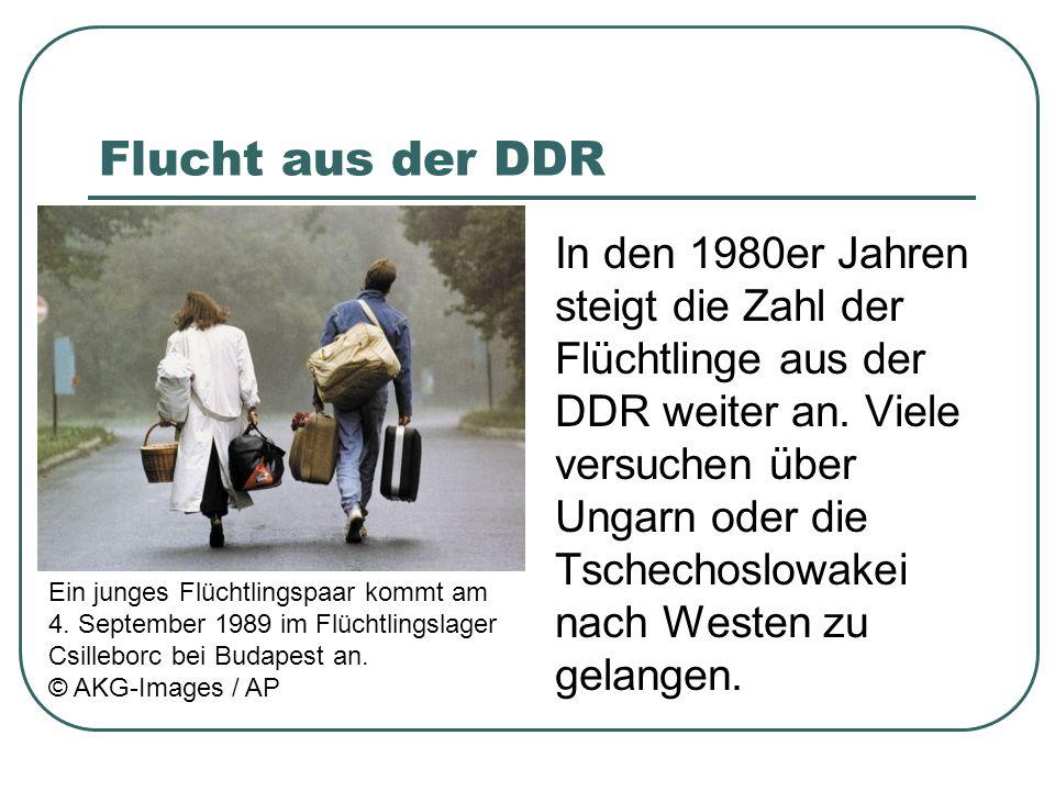 Flucht aus der DDR