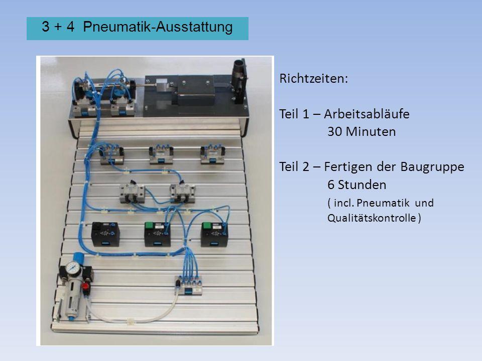 3 + 4 Pneumatik-Ausstattung