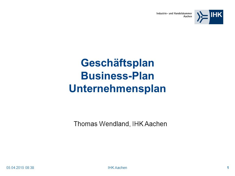 Geschäftsplan Business-Plan Unternehmensplan