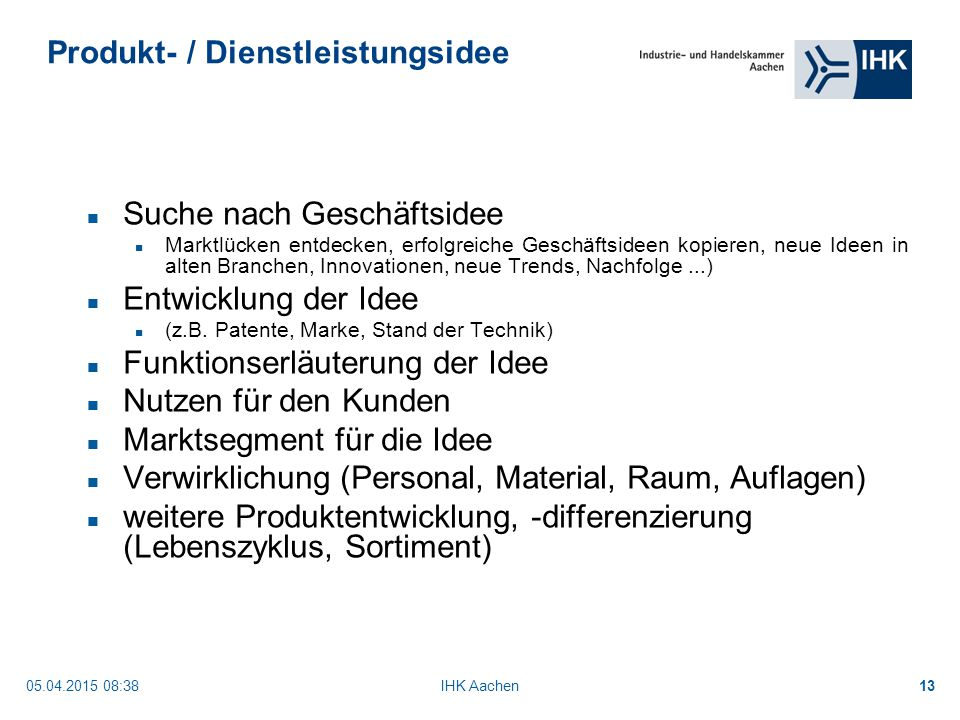 Businessplan Musterbeispiel