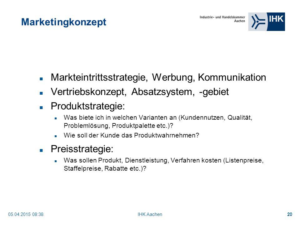 Markteintrittsstrategie, Werbung, Kommunikation